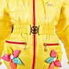 """Демисезонная куртка - жилет на девочку """"Цветы"""" новинка от производителя, оптом и в розницу, фото 4"""