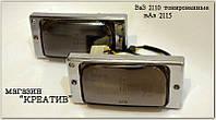Тонированные противотуманные фары на ВАЗ 2110.