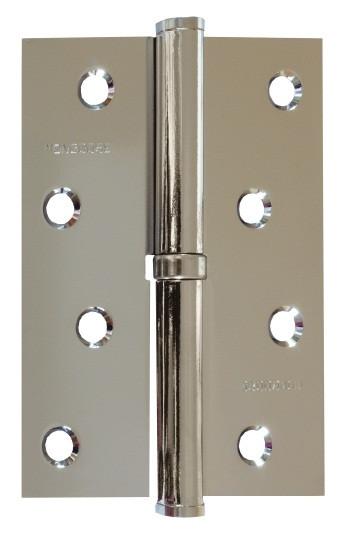Петля APECS 100*62-B-Steel-NIS-L