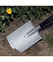 Лопата Fiskars Ergonomic штыковая с закругленным лезвием 131400, фото 4