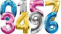 Фольгированные шары-цифры