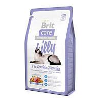 Brit (Брит) Сухой корм для кошек с чувствительным пищеварением Brit Care Cat Lilly Have Sens 7кг