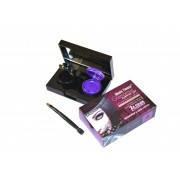 Профессиональная гель-подводка для глаз 2в1 черная и фиолетовая