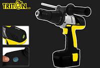 Шуруповерт аккумуляторный ударный (Triton-tools ТШАУ-18/2)