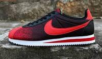 Кроссовки Nike Cortez 2016 красным значком