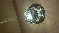 Светильник точечный ack 2561, 20Вт, 220В, прозрачный хрусталь