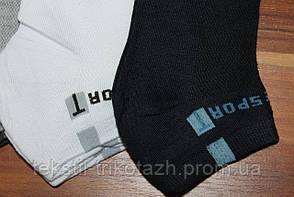 Носки мужские спорт сетка укороченный BFL A-03 (уп. 12 пар.), фото 2