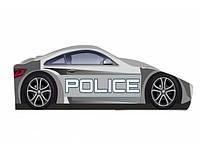 """Кровать машина """" Полиция """" серая"""