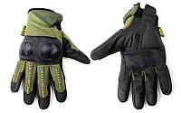 Тактические перчатки Mechanix M-Pact 3 Olive (Олива)