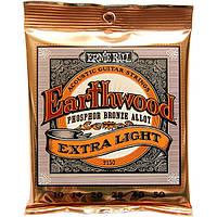 Струны Ernie Ball 2150 Earthwood Phosphor ExtraLight10-50, фото 1