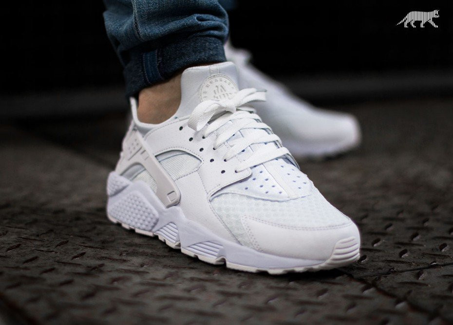 Женские кроссовки Nike Air Huarache White  White (36-40 Размер)(ТОП ... 9dbcd35dd55