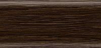 Плинтус напольный 56 мм с кабель-каналом Rico Leo  Венге Африка
