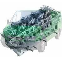 Головка цилиндров Ford Transit Форд Транзит 2000-2006