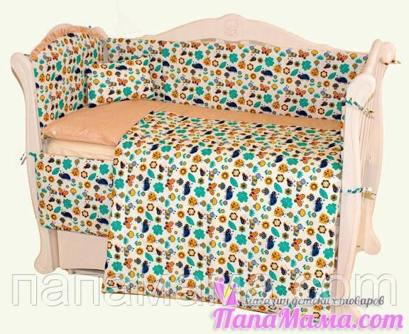 Детская постель Twins 4 элемента multi comfort