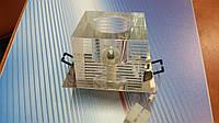 Светильник точечный ack 2591, 20Вт, 220В, прозрачный хрусталь, фото 1