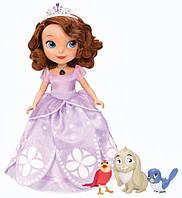 Говорящая принцесса София с питомцами Disney Sofia The First Talking Sofia and Animal Friends