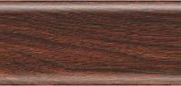 Плинтус напольный 56 мм с кабель-каналом Rico Leo Дуб тасмания