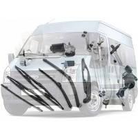 Система очищення вікон та фар Ford Transit Форд Транзит 2006-2014