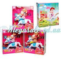 Кукла Defa Happy с лошадкой-качалкой 8296: 3 вида
