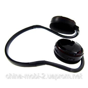 Беспроводные наушники ATLANFA AT-7606  с MP3 плеером и FM радио , фото 2