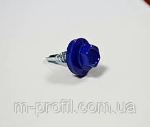 Саморез кровельный 4,8*19 (5002 RAL синий) , фото 2
