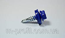 Саморез кровельный 4,8*19 (5002 RAL синий) , фото 3