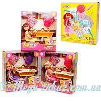 """Кукла Defa Happy """"Школа"""", 3 вида: парта, рюкзак, стульчик"""