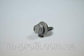 Саморез кровельный 4,8*19 (9006 RAL серый металлик) , фото 3