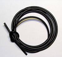 Трубка ПВХ черная 3,5 мм для капельного полива 200 метров
