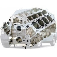 Блок-картер Ford Transit Форд Транзит 2006-2014