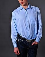 Мужская голубая рубашка - Cerrutti