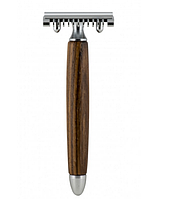 Станок для бритья Т-образный Fatip Zebrano Wood