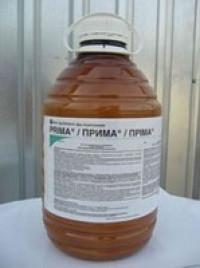 Прима ( Пріма) гербіцид проти однорічних і багаторічних дводольних бур'бур'янів , у тому числі стійких до 2,4 -Д