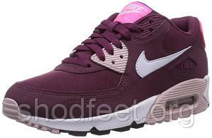 Женские кроссовки Nike Air Max 90 Wine Red