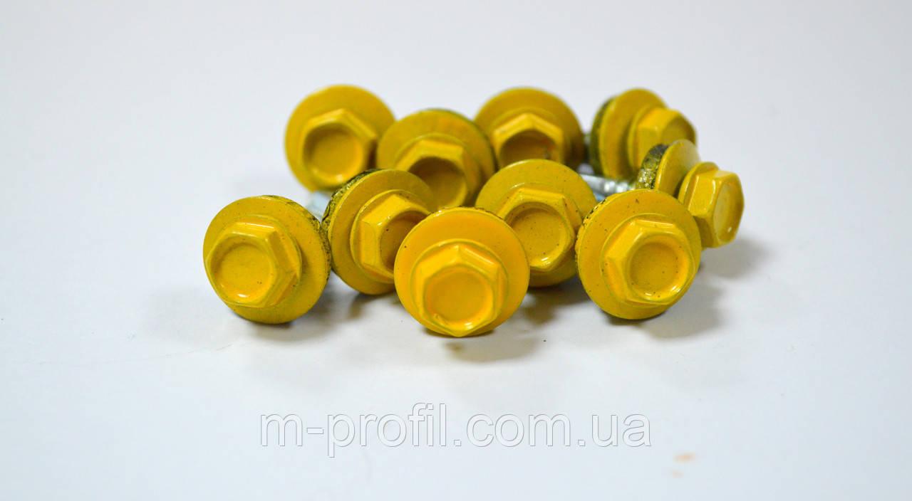 Саморез кровельный  4,8*19 (1003 RAL желтый)
