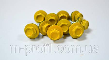Саморез кровельный  4,8*19 (1003 RAL желтый) , фото 2