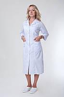Белый медицинский халат  большого размера
