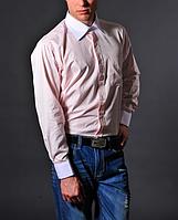 Мужская розовая рубашка - Francesco Smalto