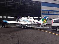 Прицеп для легкомоторного самолёта + автовоз!