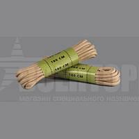 Шнурки вощеные 140 см Тан Милтек