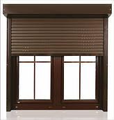 Роллеты на окна, защитные роллеты