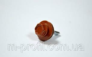 Саморез кровельный 4,8*19 (8004 RAL светло-коричневый) , фото 2