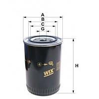 Топливный фильтр WIX 95008E