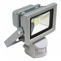 Прожектор СДО01-20Д(детектор)светодиодный серый чип IP44 ИЭК