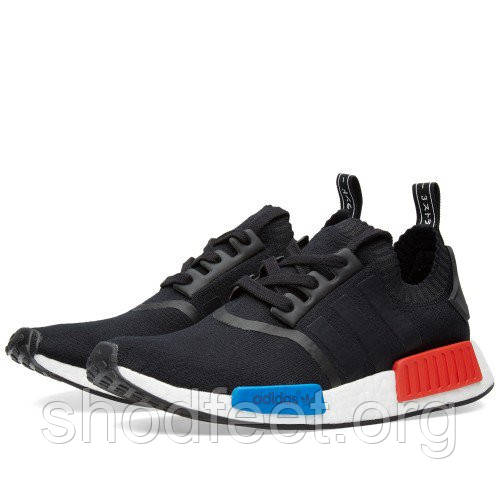 Мужские кроссовки Adidas Originals NMD Runner Primeknit Black