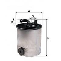 Топливный фильтр WIX WF8443