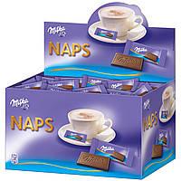 Большая коробка молочного мини-шоколада Milka Naps 355шт., 1702г