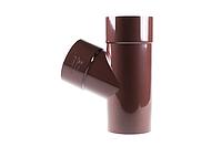 Тройник 60° для водосточнной системы Profil, 130 мм