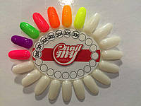 Гель лак My nail 9 мл №300 малиновый с мелким глитером