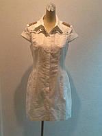 Платье Dolce&Gabbana сафари белое, фото 1